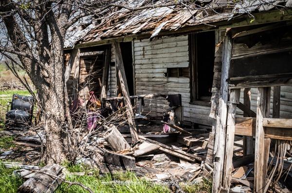Abandoned Farmhouse Near Gunter, Texas