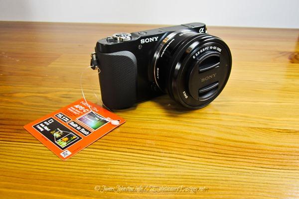 Sony NEX-3NL/B Compact Interchangeable Lens Digital Camera Kit