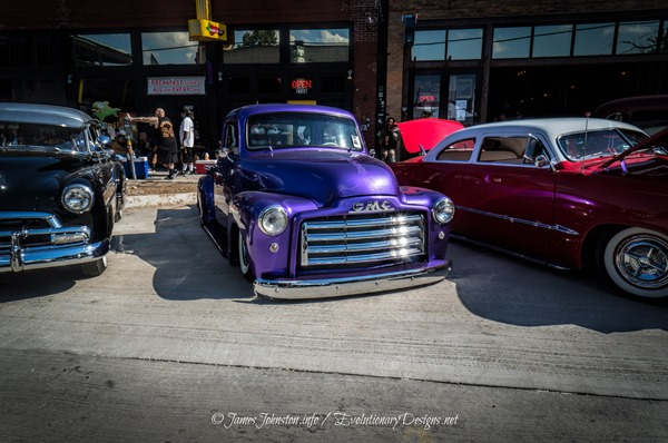 The Invasion Car Show 2014 James Johnston