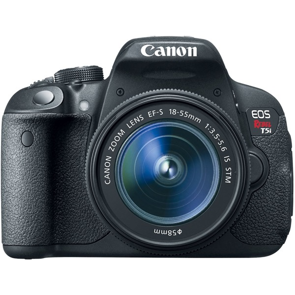 Canon EOS Rebel T5i Digital SLR with 18-55mm STM Lens