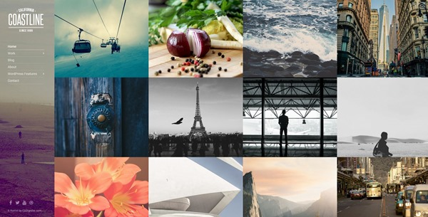 Coastline - Premium Portfolio and Photography Themes by CSSIgniter