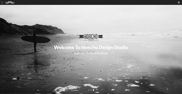 Honcho - OnePage/MultiPage Responsive Theme