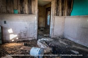 Abandoned Farm House Near Hamlin, Texas - Bedroom