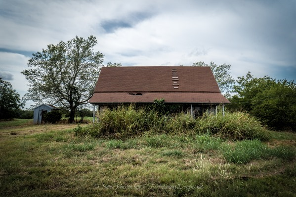 Abandoned Farm House West of Ector, Texas