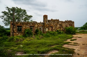 Nature's Doorway – Ed Young's Service Sation in Glen Rose, Texas - Back of the Building and Side of the building