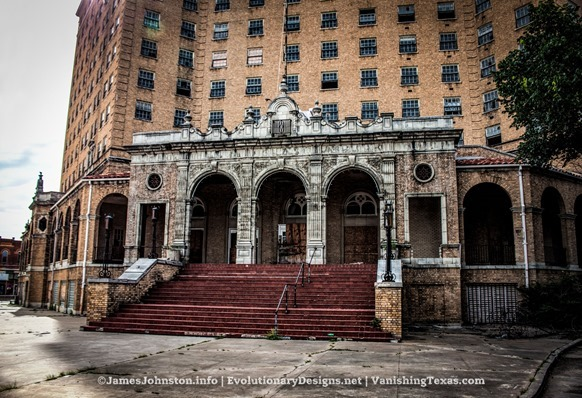 The Abandoned Baker Hotel in Mineral Wells, Texas
