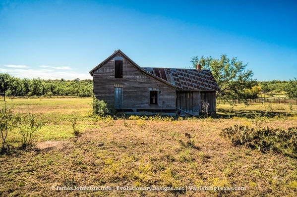 Abandoned Farm House Near Abilene, Texas