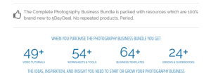 5DayDeal Bundle – Complete Photography Business Bundle 2016