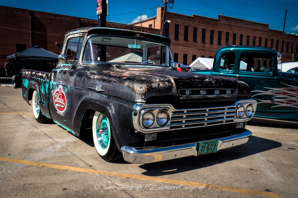Rob's Chop Shop Truck -Invasion Car Show 2014