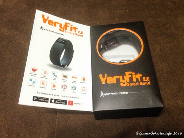The Smart Band: Heart Rate Monitor Fitness Activity Tractor (VeryFit 2.0)