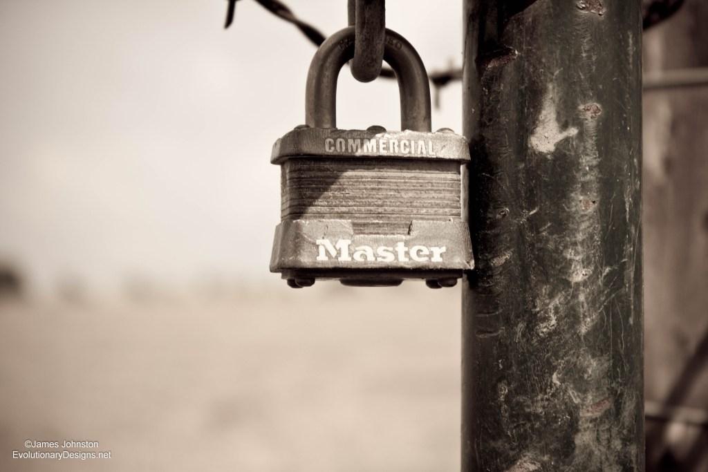 Old Master Lock Padlock