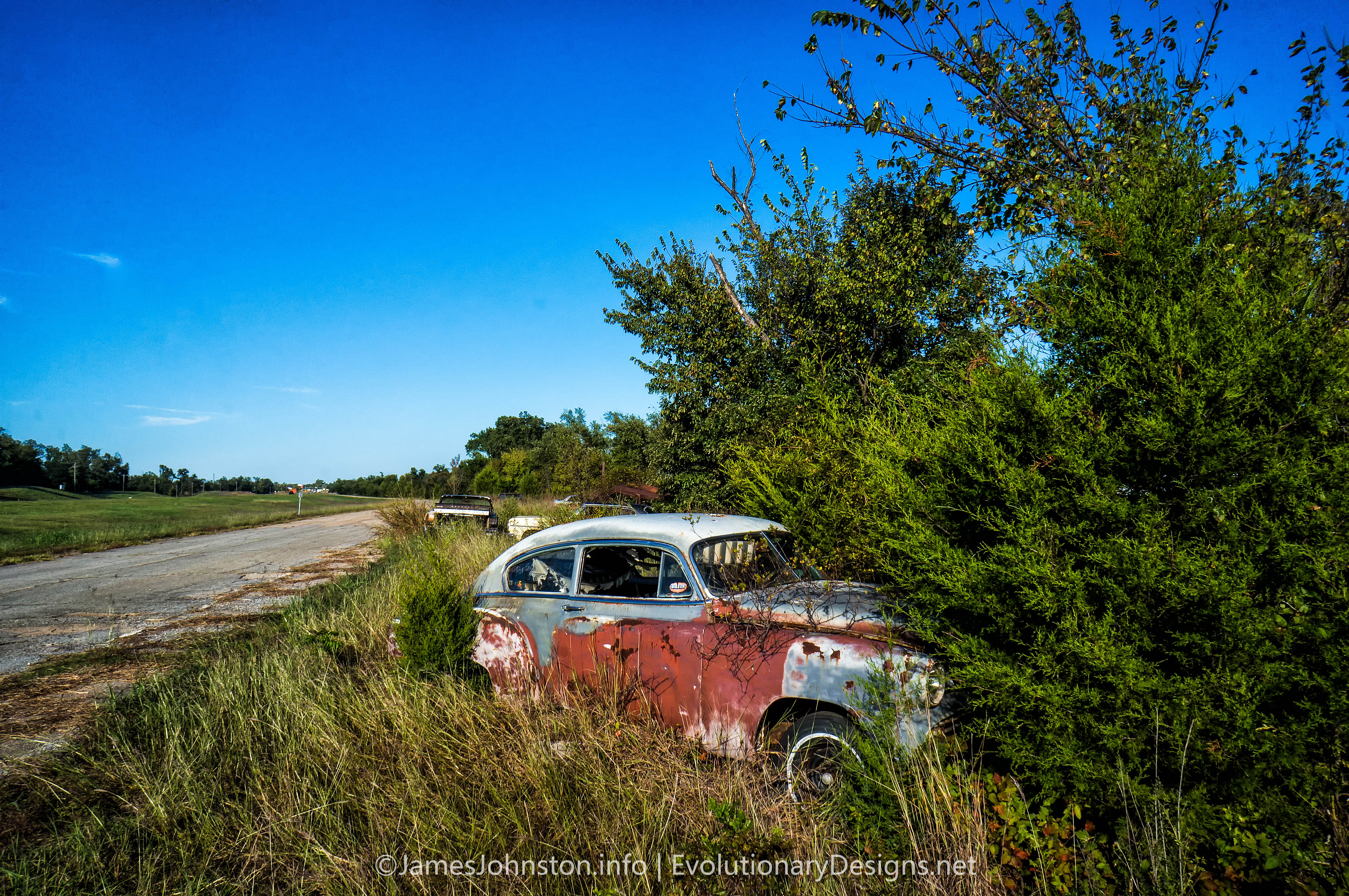 Abandoned Cars in Oklahoma