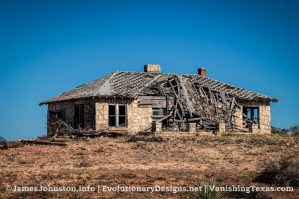 Random Image of the Week #55: Abandoned Stone Farm House North East of Abilene, Texas
