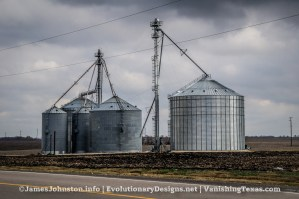 Random Image of the Week #54: Grain Elevators and Grain Silos Near Frost, Texas