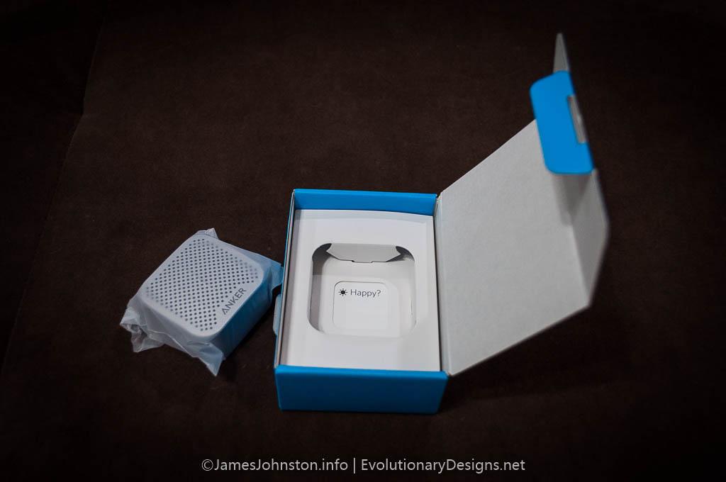 Anker SoundCore Nano Bluetooth Speaker unboxing