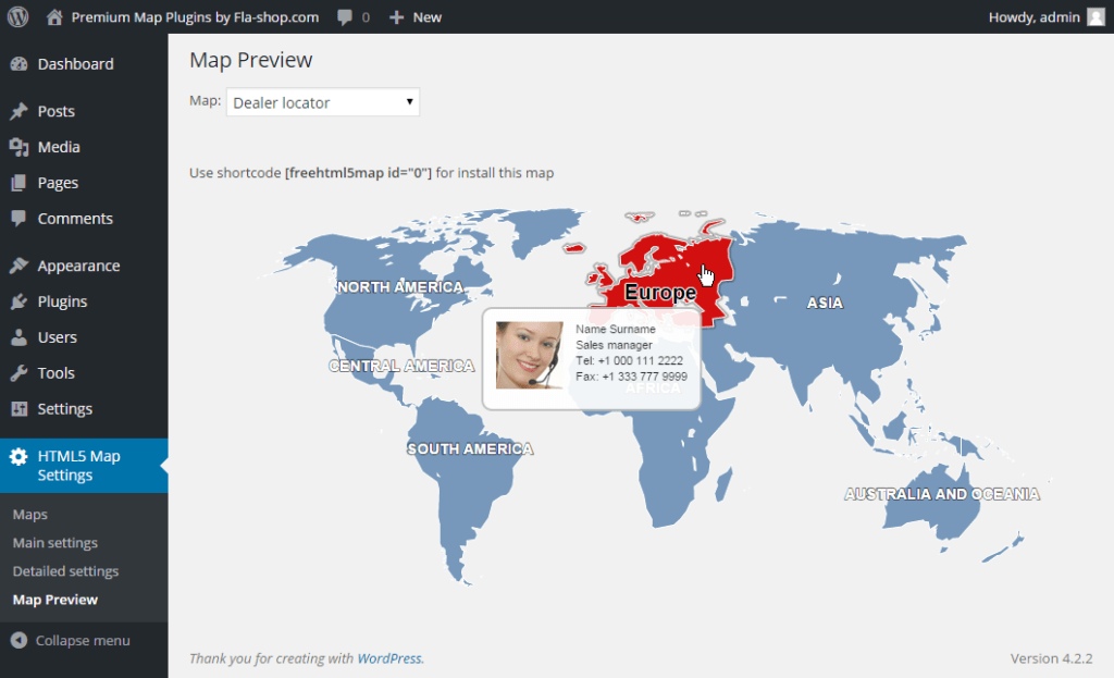 How to Add an Interactive Map to a WordPress Blog - James Johnston