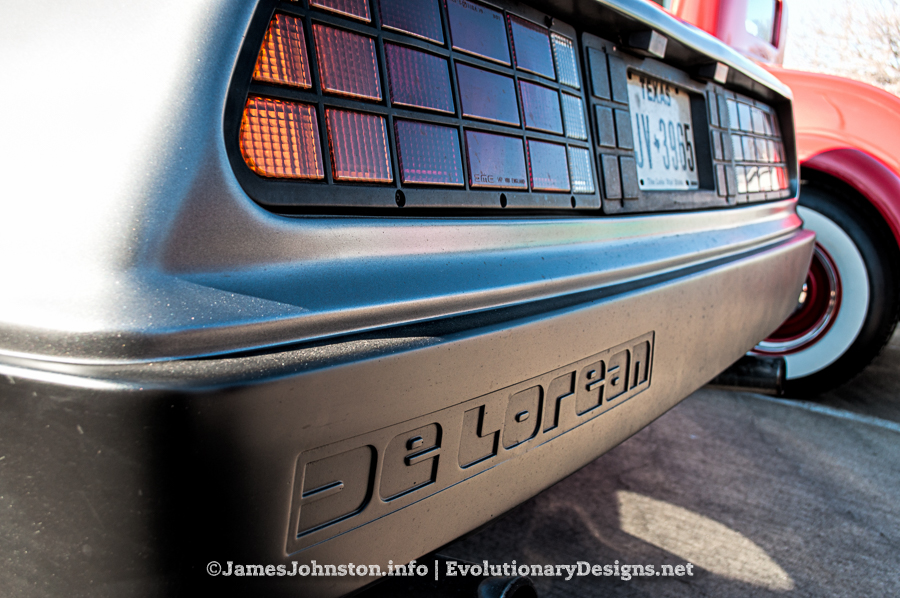 De Lorean Spotted At The Helping Out Our Neighbors Car Show - Mercedes tx car show