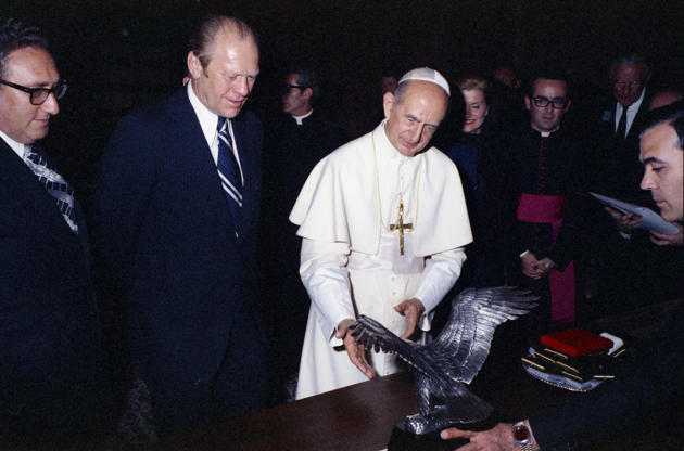 Image result for gerald ford and pope