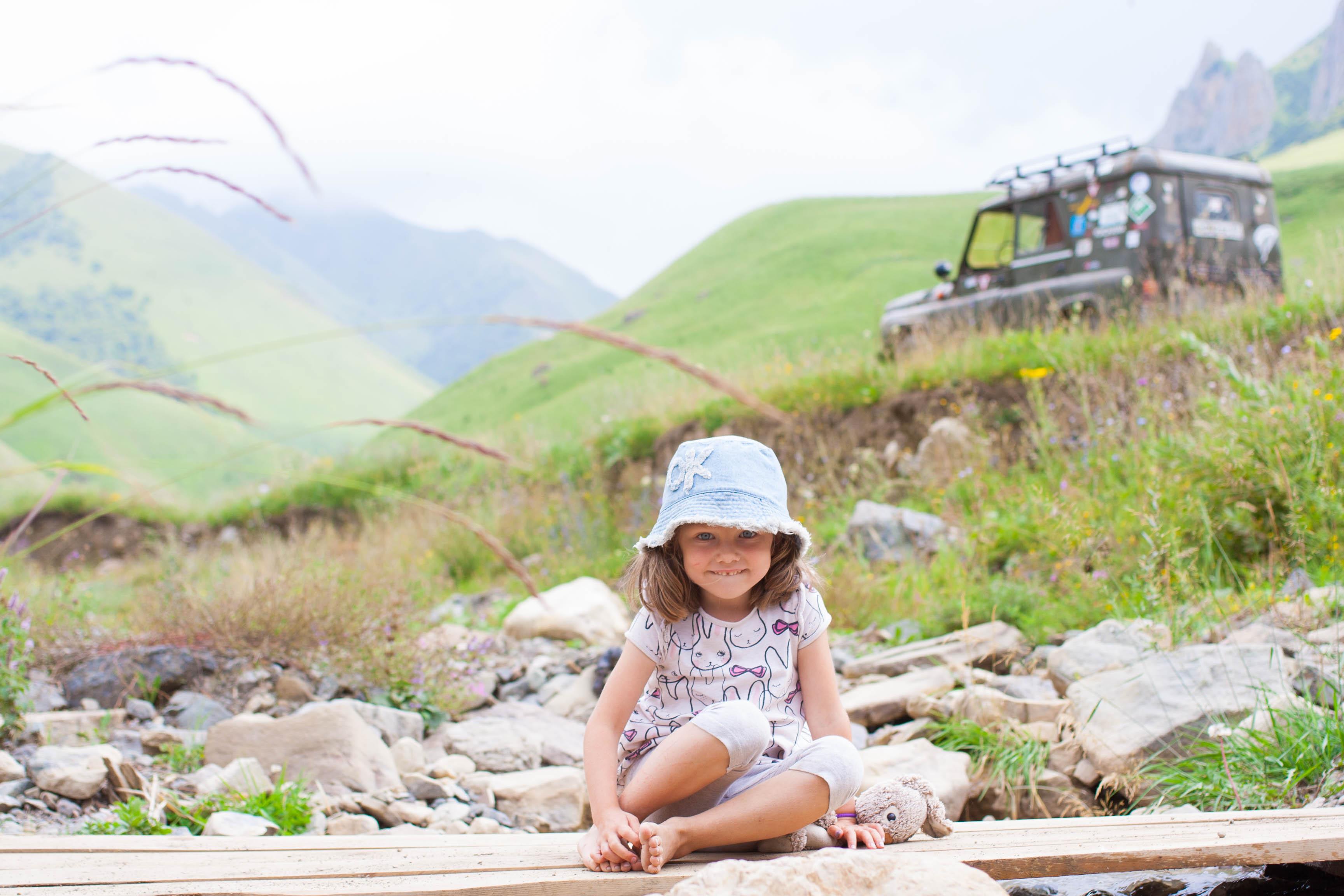 child portrait natural environment