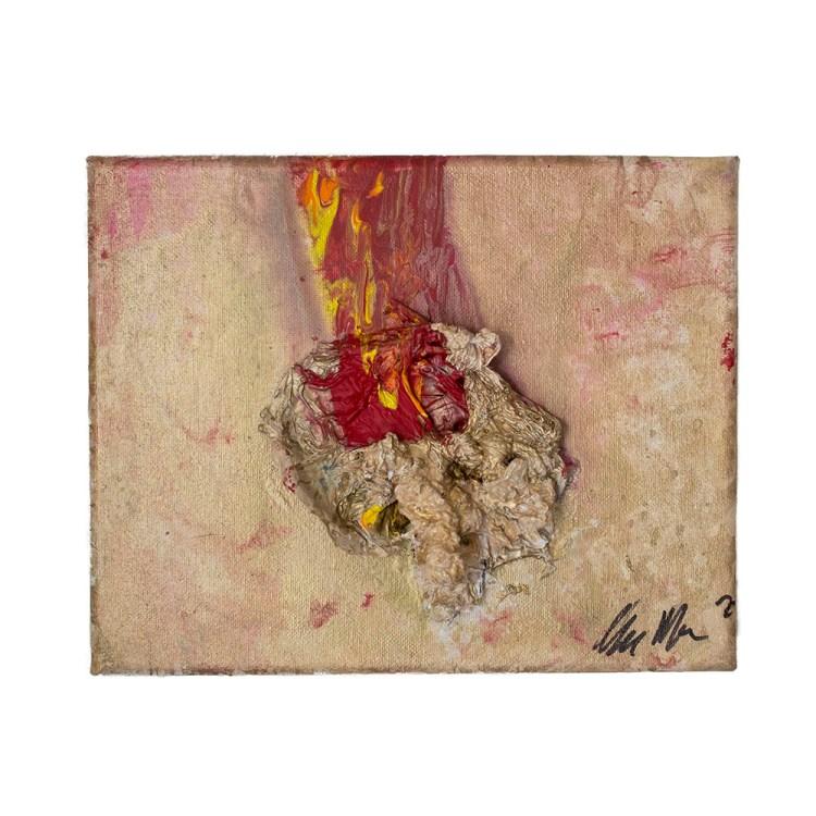 fireball-abstract-art