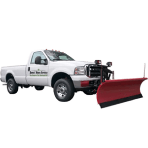 snow removal in ballston lake truck