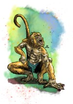 """Sun Wukong, or Monkey, whose given name loosely means """"awakened to emptiness""""."""