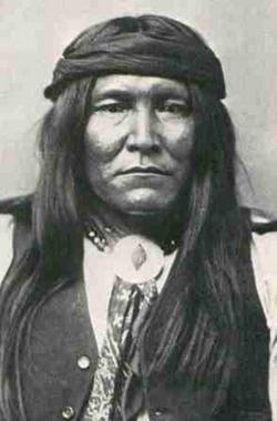 "Cochise, Chokonen Apaches --""Rising Sun People"" often called Chiricahuas."