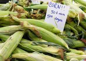 Corn via ThisLittlePiggyWentToTheFarmersMarket.com