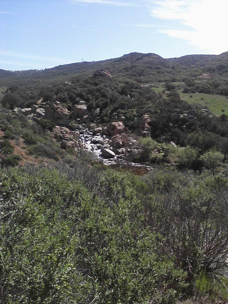 Penasquitos Canyon Waterfall San Diego, CA