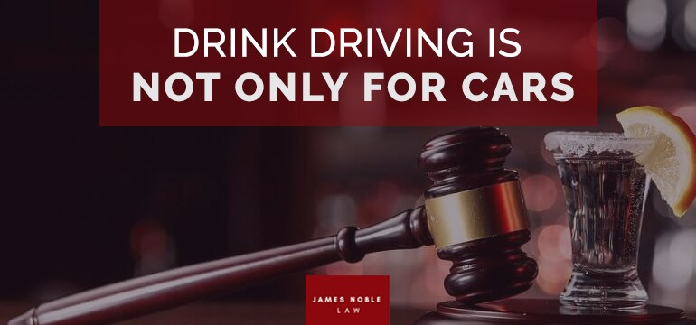 Drink Driving is Not Only for Cars