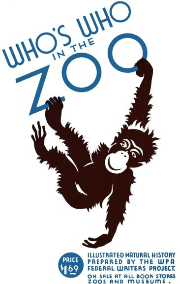 whos-who-in-the-zoo-wpa-poster1936