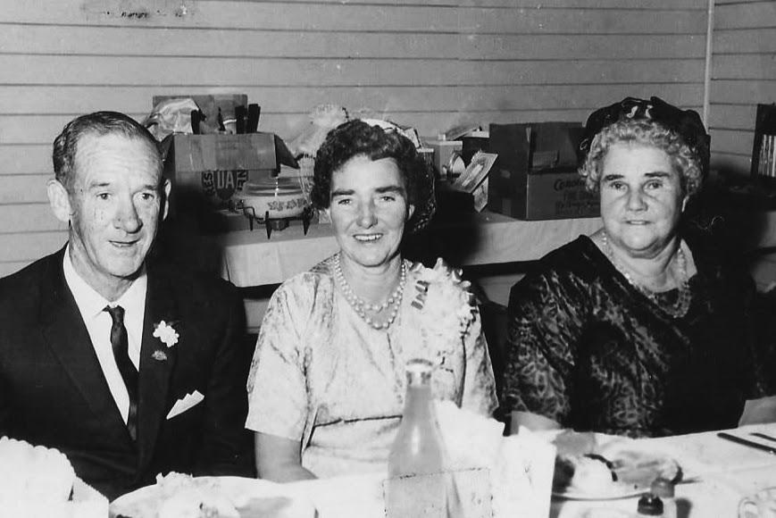 Albert O'Brien, Bertha Dunn, Bertha Rixon 1968