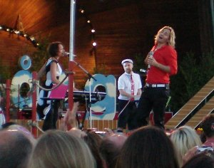 BWO perform at Allsang pa Skansen