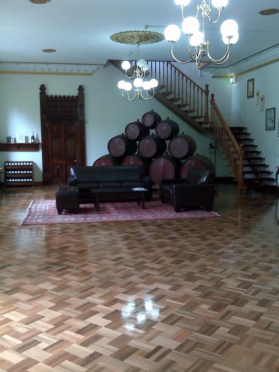 Tasting room at Yaldara Estate in Barossa