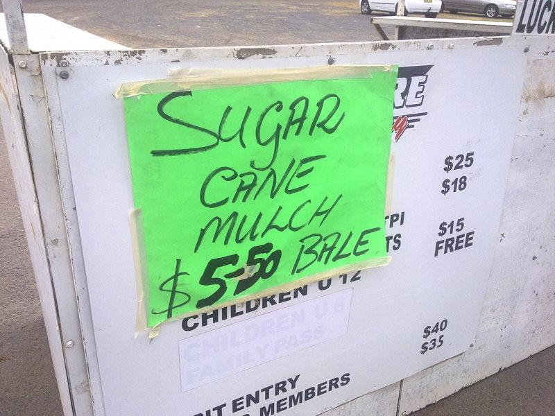 Sugar Cane mulch for sale