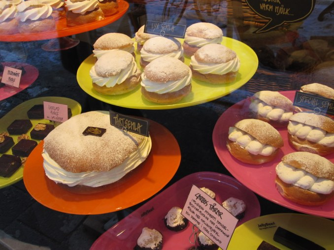 Semla and Garbos Tears in front