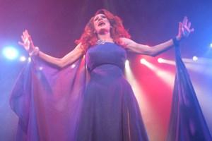 Drag queen starts show
