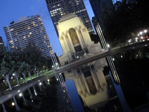 Pool of Reflection, Hyde Park, Sydney