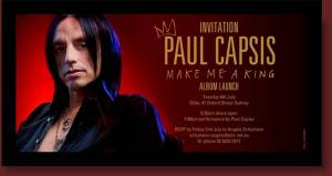 Paul Capsis CD Launch