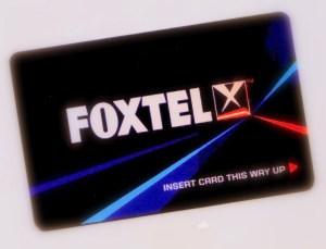 Foxtel Card