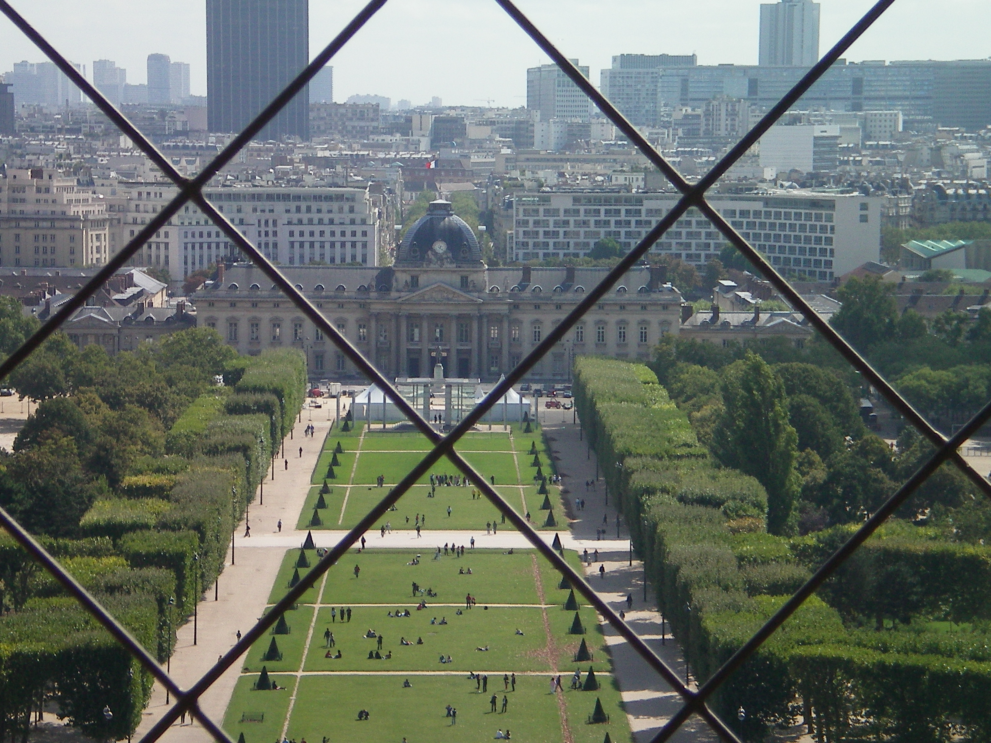 View from the tower in Paris