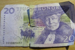 Selma Lagerlöf features on the 20 kronor Swedish note
