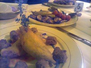 Dinner at Cafe Sicilia