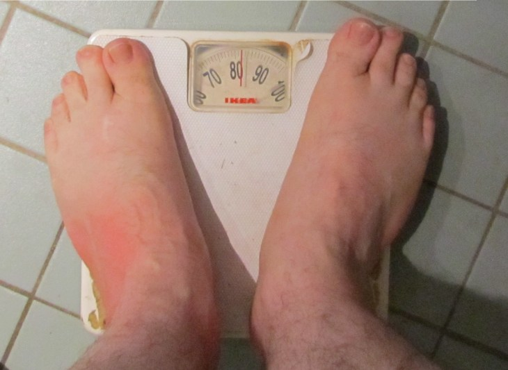 Seriously, it must be 20 years since I weighed 82kg