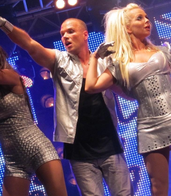 Alcazar performs at Stockholm Pride