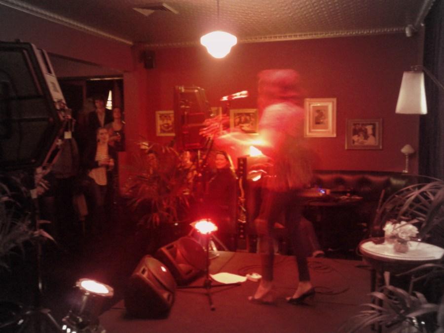 Lanie Lane CD launch at Gardel's Bar at Porteño, Surry Hills