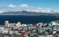 View from Hallgrímskirkja in Reykjavík