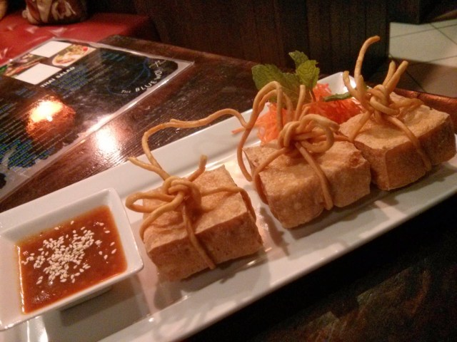 Blue Wok Tofu