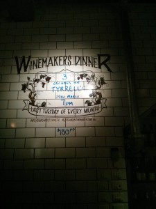 Wine Makers Dinner