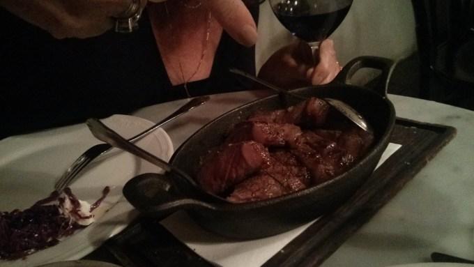 Dinner at Porteño